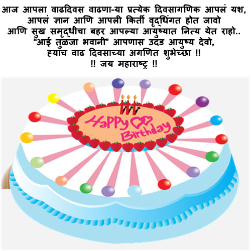 Birthday images pics marathi