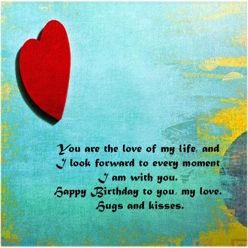 Romantic Birthday wishes for boyfriend lover