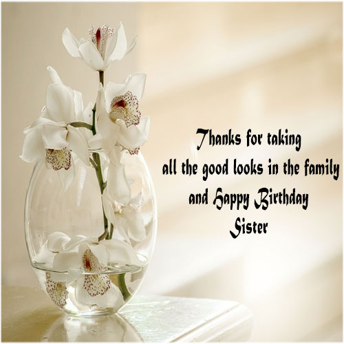 Happy Birthday Sister Images for facebook