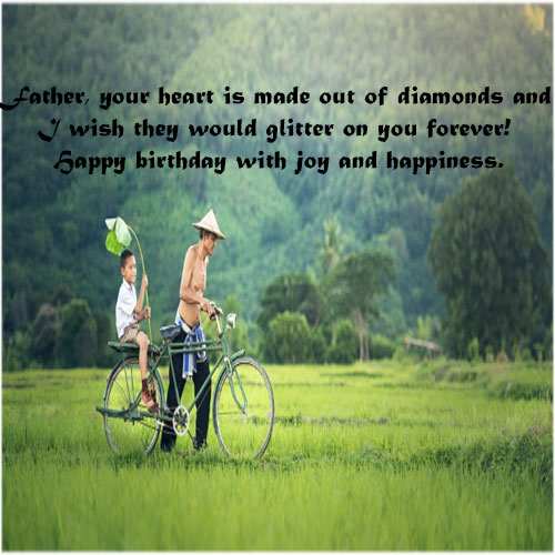 Happy Birthday Wishes for Father Dad foe share