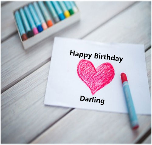 Happy Birthday images pics photo greetings card for wife free hd download