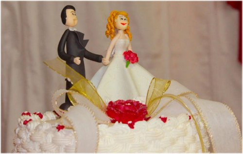 Cake with wedding Images Wallpaper Photo Pictures Pics for husband wife