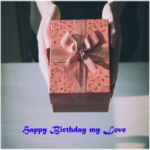 Birthday gift image wishes for girlfriend lover