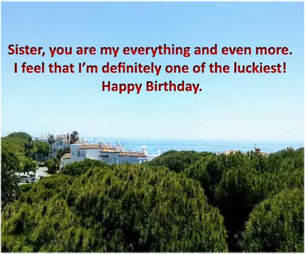 Birthday Message For Younger Sister