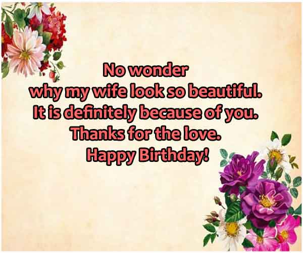 Happy Birthday Wishes For Mother-In-Law