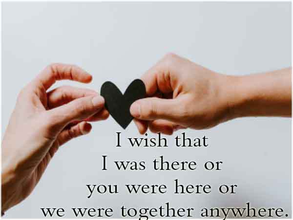 Deep Long Distance Relationship Quotes