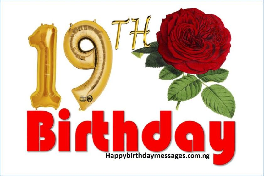 Top 20 19th birthday wishes greetings quotes happy birthday happy 19th birthday wishes greetings and quotes m4hsunfo