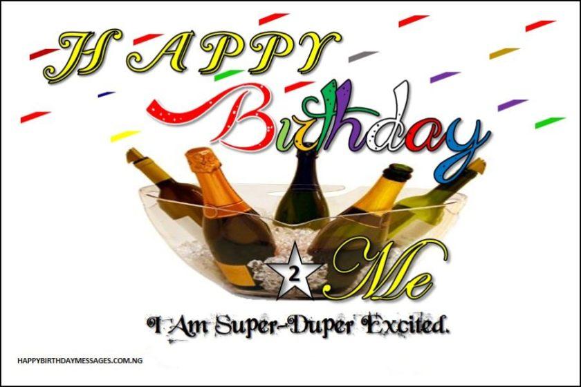 100 Heartfelt Birthday Wishes to Myself - Happy Birthday Messages