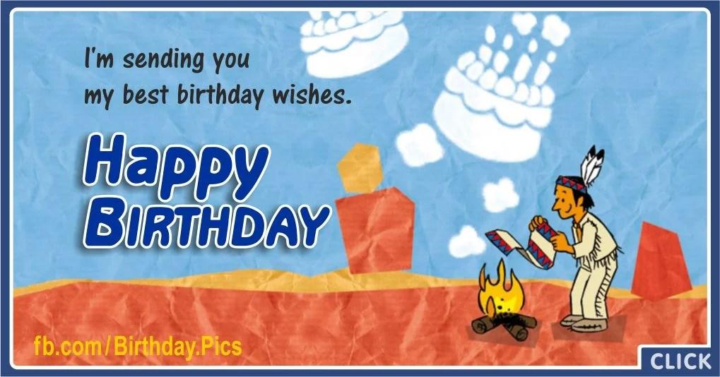 Smoke Signals Native American Birthday Wishes Birthday Wishes