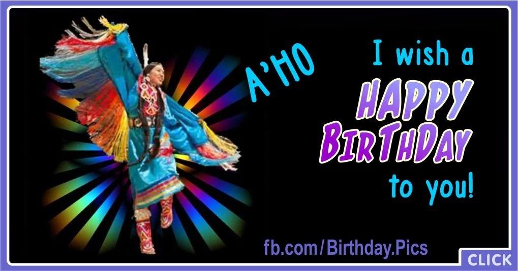 Native American Archives Birthday Wishes Birthday Wishes