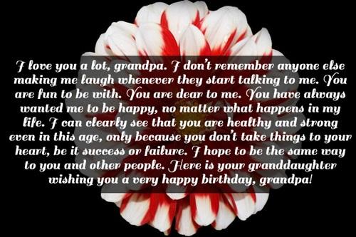 Grandpa Birthday Quotes Happy Birthday Grandpa Wishes