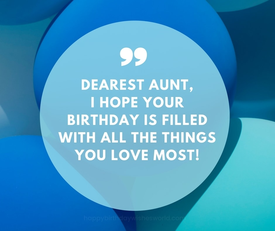 120 Ways To Say Happy Birthday Aunt Find Your Perfect Birthday Wish
