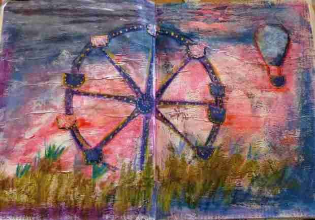 hb-art journaling 7