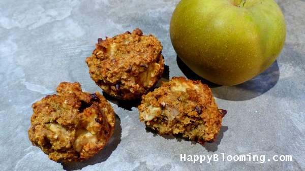 muffins pomme chocolat sans gluten