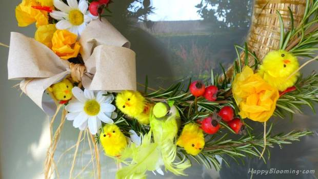 couronne pâques printemps diy 1