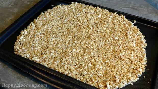 granola recipe muesli croustillant recette , sans gluten, sans gras, fat free, gluten free