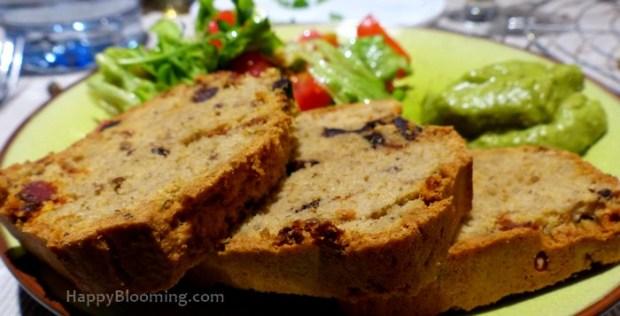 cake salé provençal sans gluten facile végétarien idée rapide