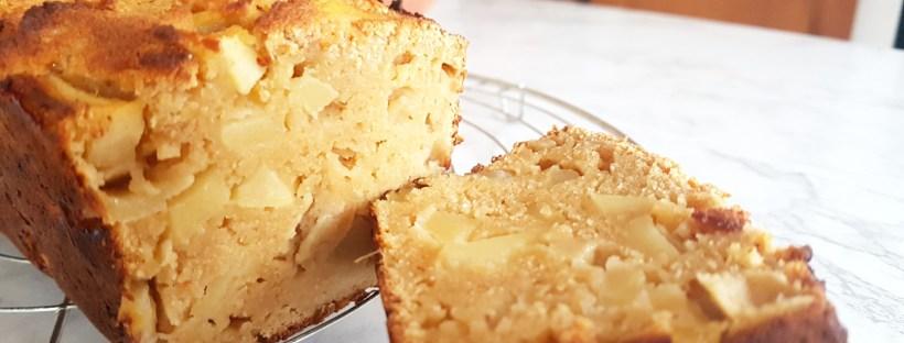cake farine de coco pommes