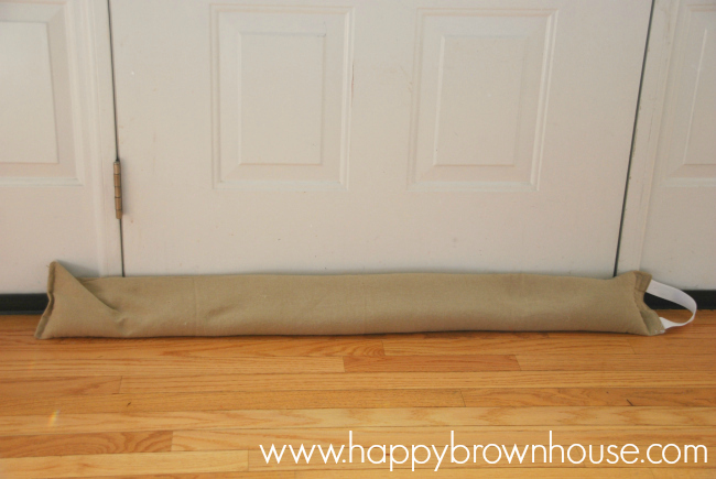 Diy Door Draft Stopper Easy Sewing Project