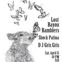 Lost Bayou Ramblers/Shock Patina. Poster. 2015