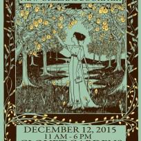 Bookfair poster. 2015