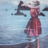 "Wittiest 1965, oil on canvas, 50x62,"" 2015"