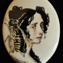 """Wasp, ceramic, .1.25x2,"""" 2015"""