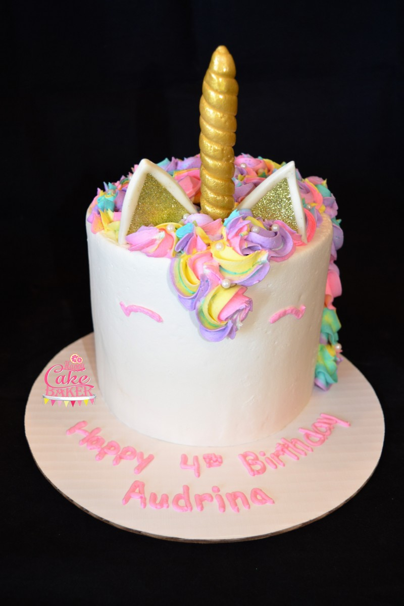 Fondant Baptism Cake