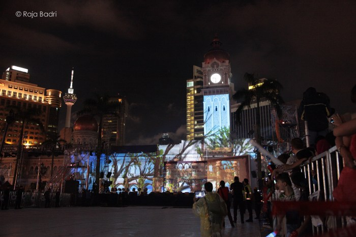 VMY 2014 - 3D Wall Mapping Projection