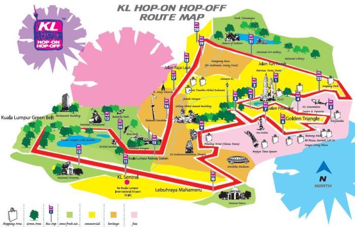 HopOnHopOff_KL_Route_Map