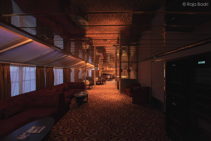 One of the halal restaurant on board the Libra