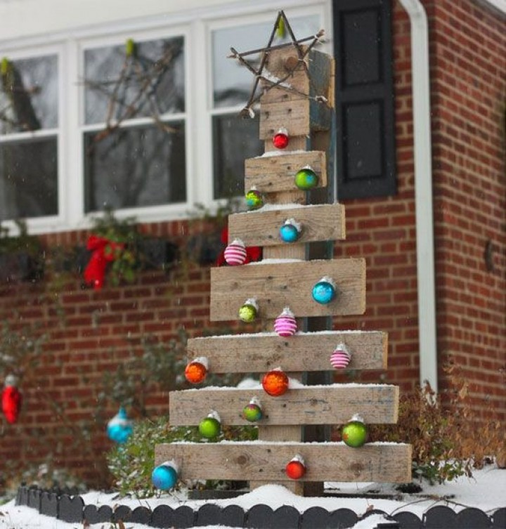 How To Make Outdoor Christmas Decorations Out Of Wood