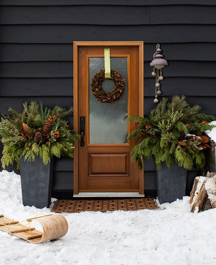 15 Outdoor Christmas Decoration Simple And Elegant