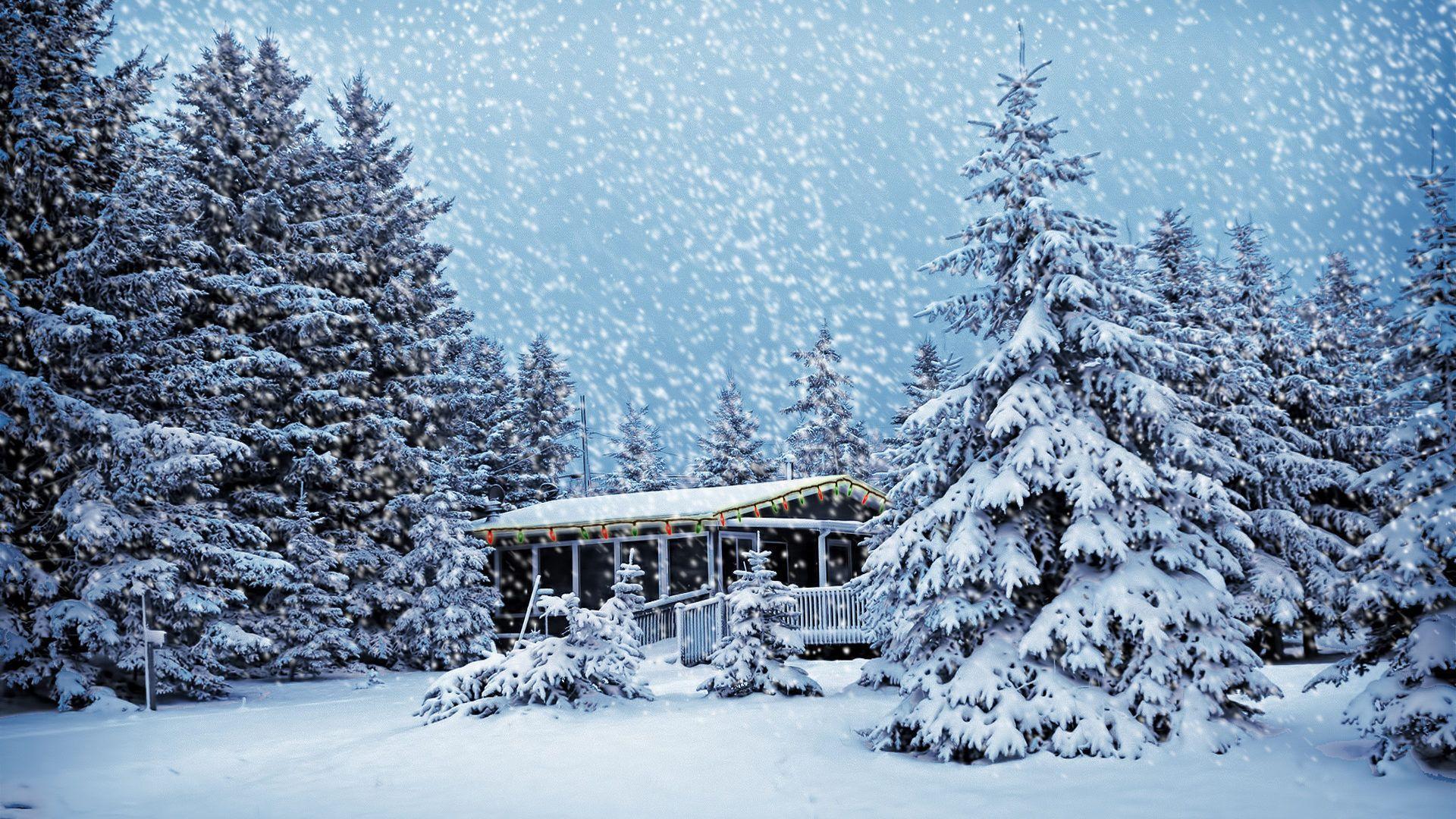 Enchanting Christmas Snow Wallpaper To Your Mobile Phone N