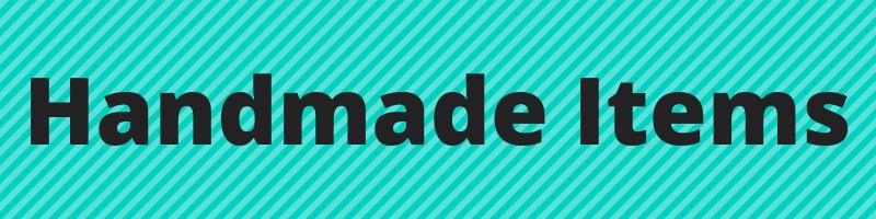 website - handmade items