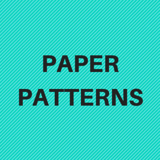 Printed Paper Patterns