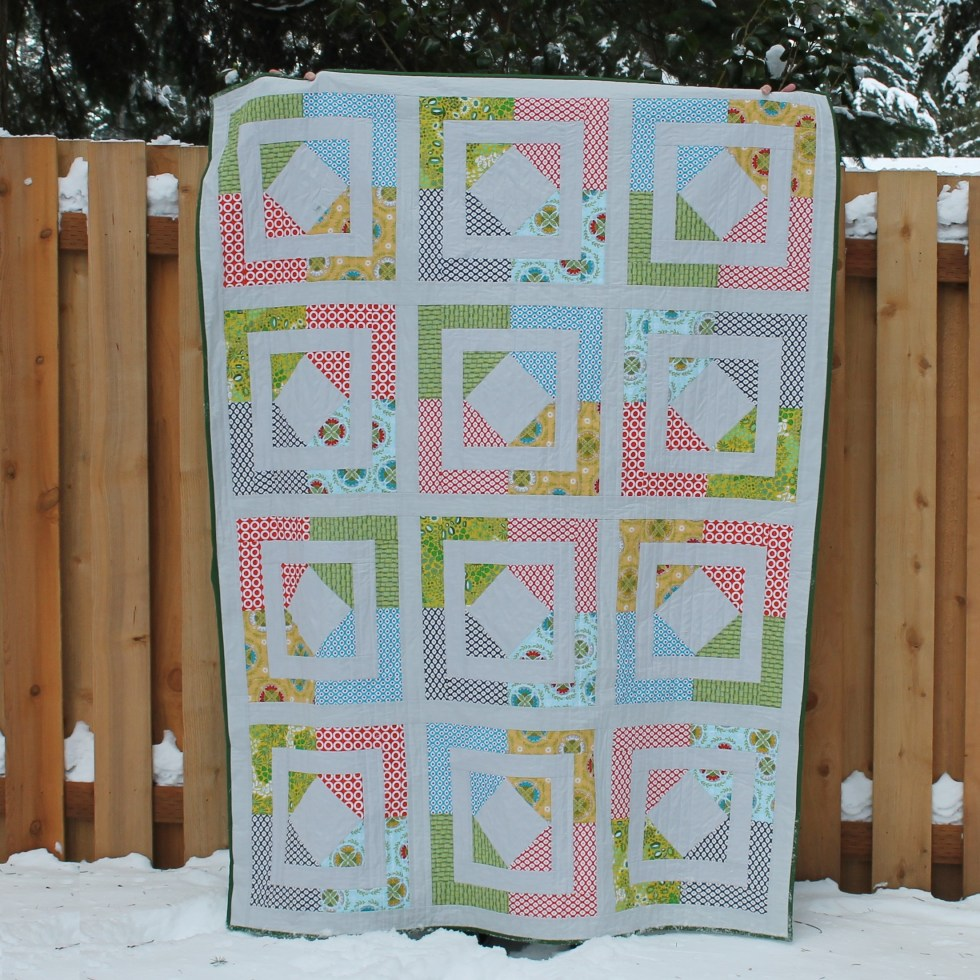 frame it quilt pattern