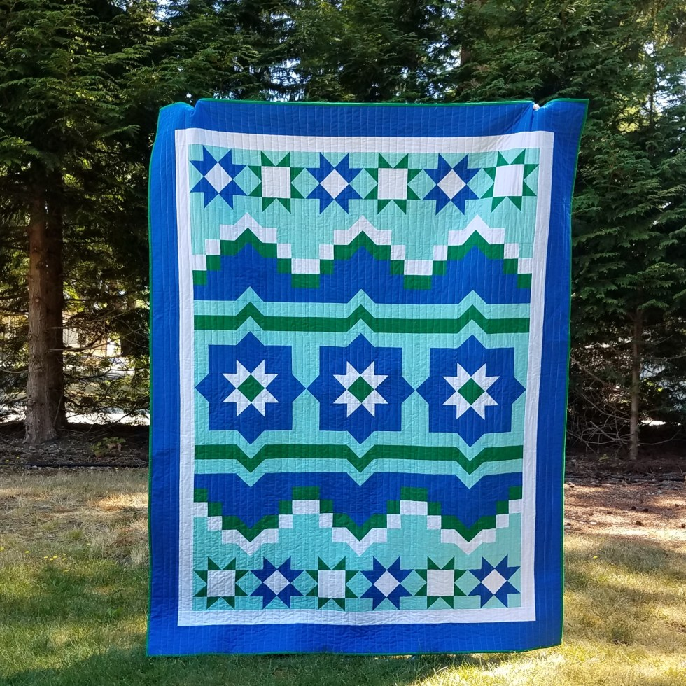 1 starlight mountain quilt