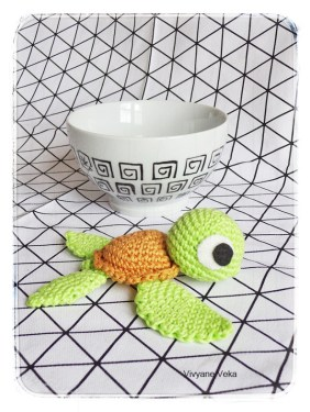 DIY Petite Tortue au Crochet