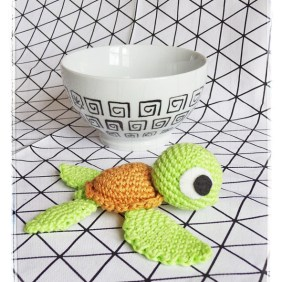 Tutoriel Petite Tortue au Crochet