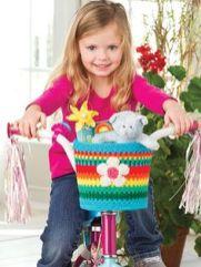 panier de vélo enfant au crochet