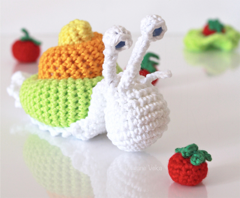 DIY Escargot crochet