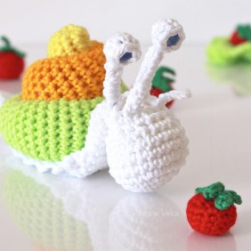 Tutoriel Escargot au crochet