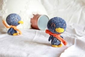 Pingouin au crochet Amigurumi pingoo 2