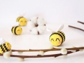 Abeilles crochet 2