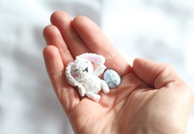Mini lapin au crochet blog