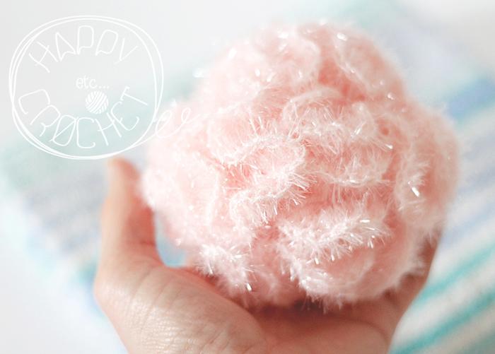 Atelier fleur de douche crochet