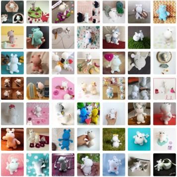 Photos CAL Moomin au crochet 1ere edition