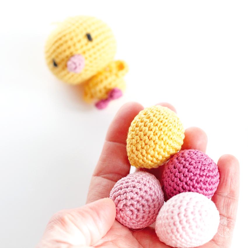 DIY Oeufs au crochet