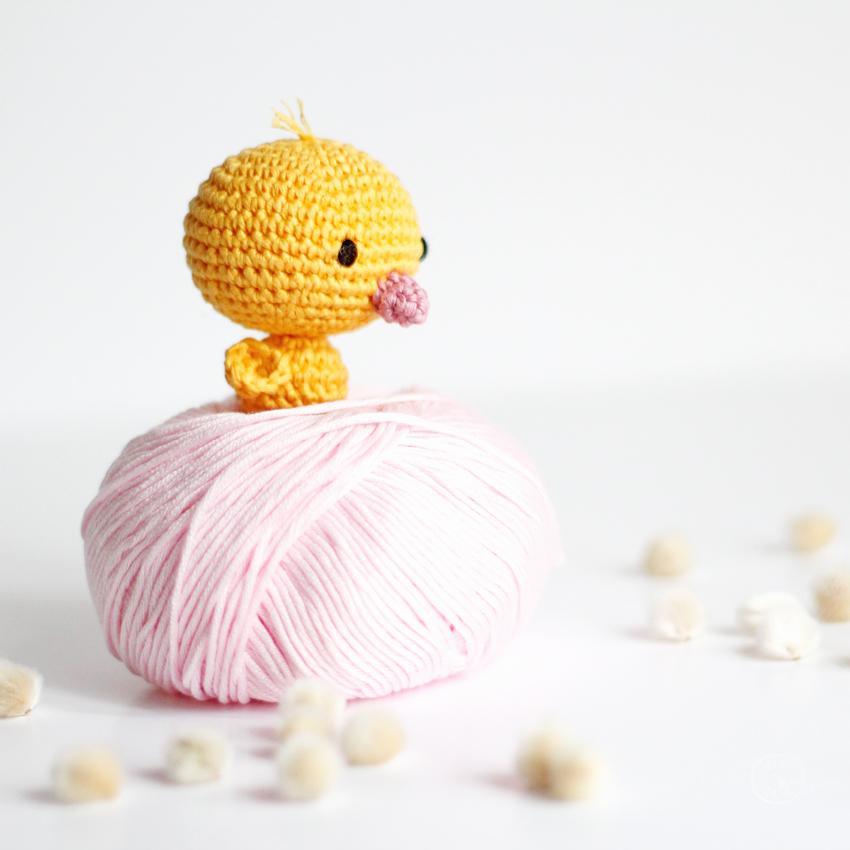 DIY Poussin Crochet